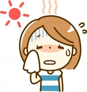 体温調節の汗