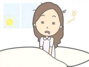 眠りが浅い