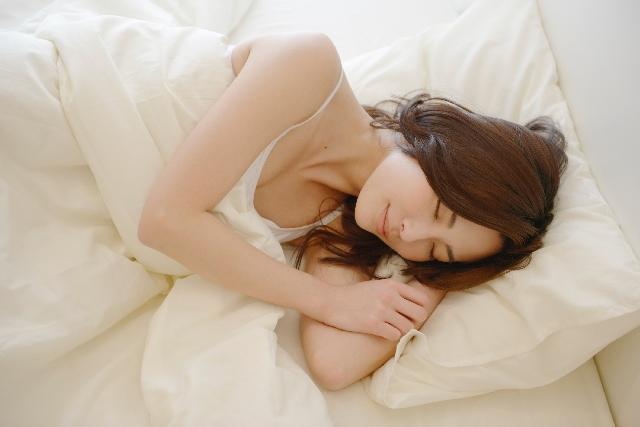 女性と睡眠